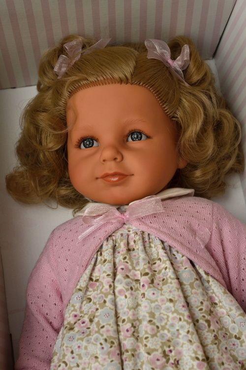 Realistická panenka Noa Pirris - sv. vlasy - Antonio Juan ze Španělska