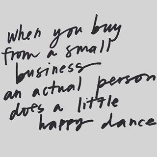 #Haha #true... maybe I will film my #happydance one day  #smallbusiness #goforit #etsy #etsyfinds #etsyshop #etsyseller