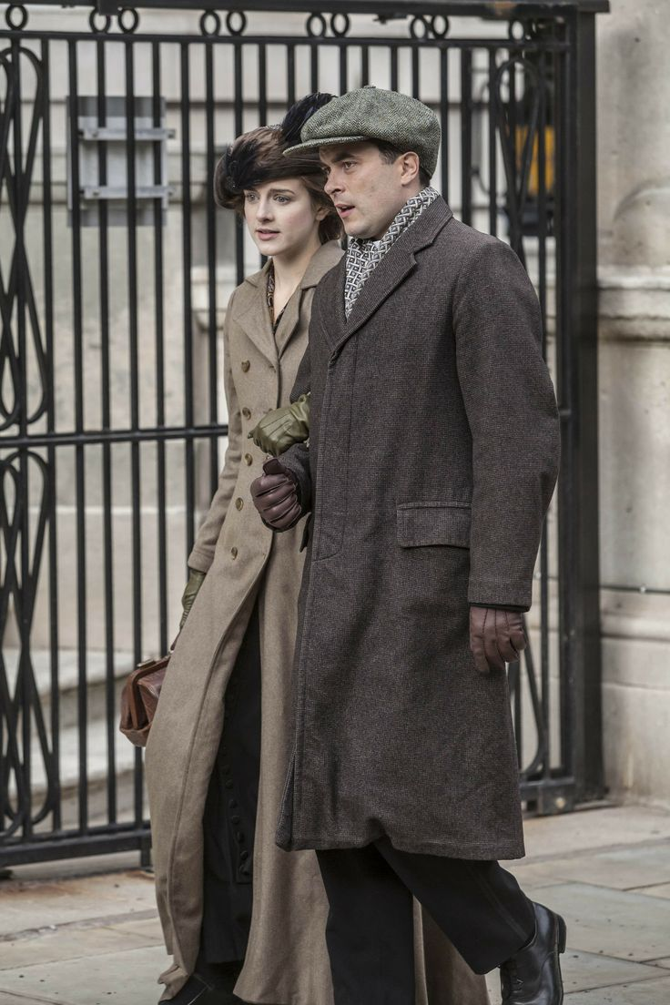 Mr. Selfridge ~ Agnes and Victor