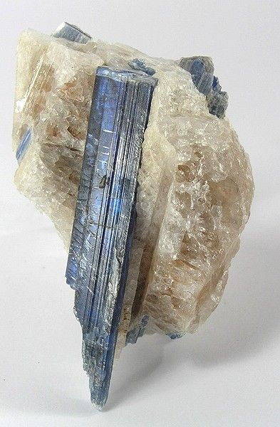 kyanite and quartz - north carolina