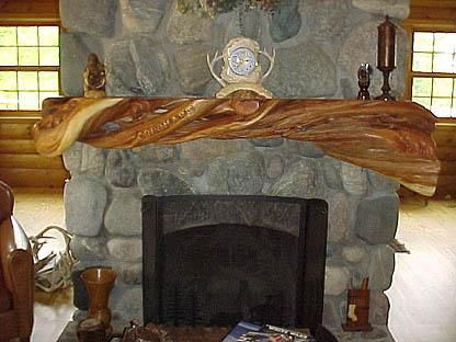 Mantels Mantles And Columns On Pinterest