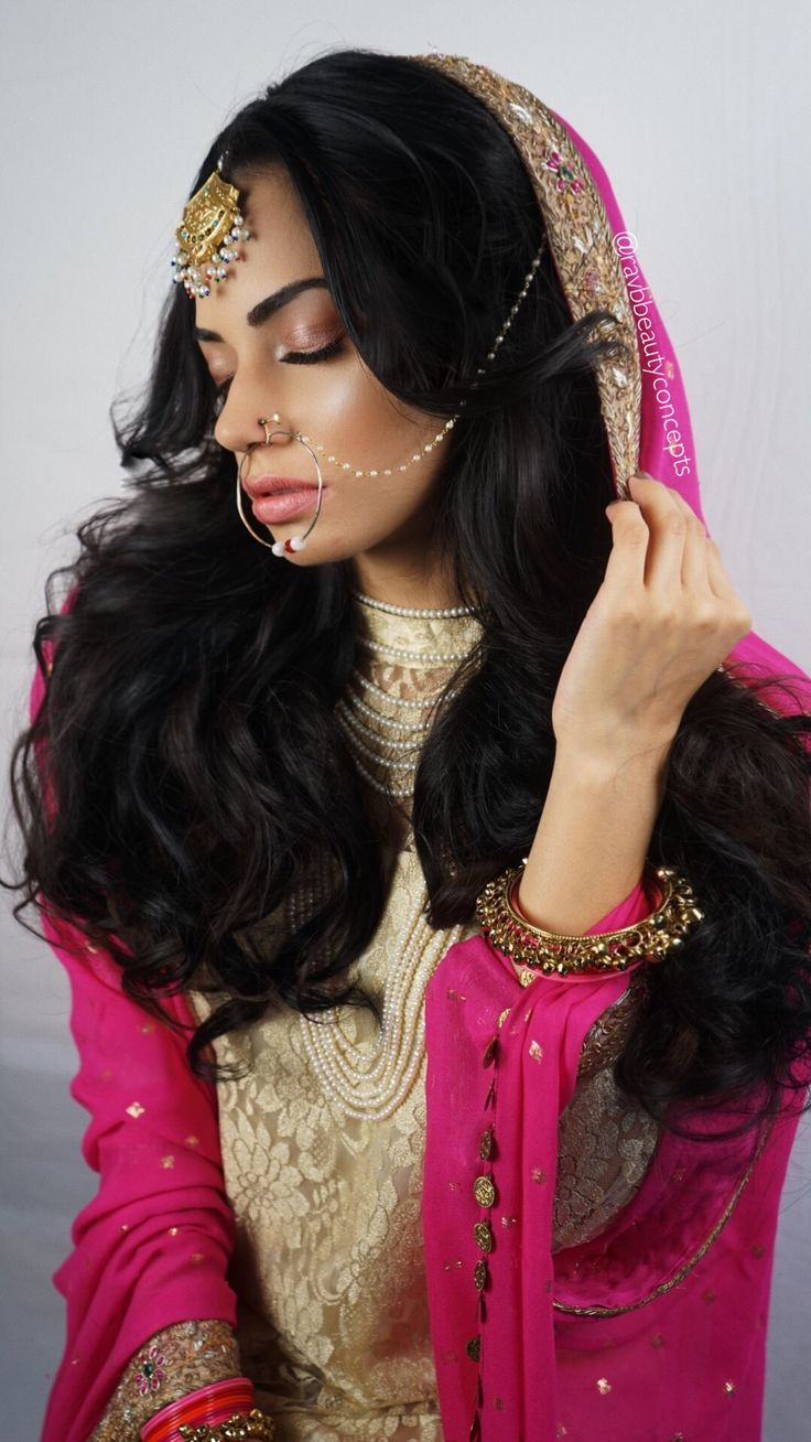 the 25+ best indian bridal hairstyles ideas on pinterest | indian