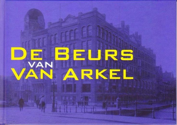 De Beurs van Van Arkel, NIEUW BOEK | Architectuur | BoekwinkelStip