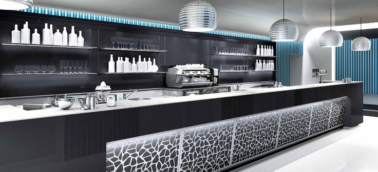 032 ifi bar counter black white pinterest bar for Ifi arredamenti bar