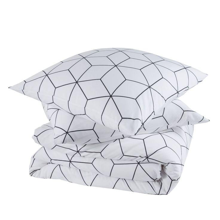les 25 meilleures id es concernant couette g om trique sur pinterest mod les de dessus de lits. Black Bedroom Furniture Sets. Home Design Ideas