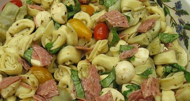 Σαλάτα με τορτελίνι και μπαλσάμικο - SugarFree
