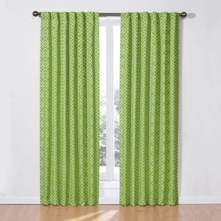 Waverly Lovely Lattice Curtain Panel - 12458050X084IND