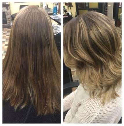 21+ Trendiger Haarschnitt vor und nach mittleren Locken