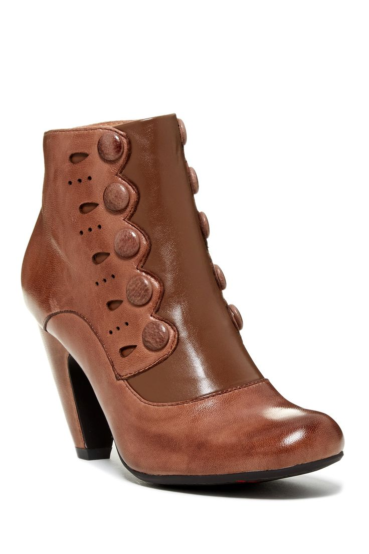 Strut Button Bootie