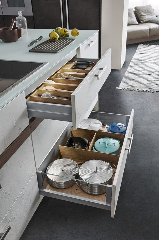 TOPOS   CONCRETE › Concrete › Modern style › Kitchen › Kitchen   LEICHT – Modern kitchen design for contemporary living