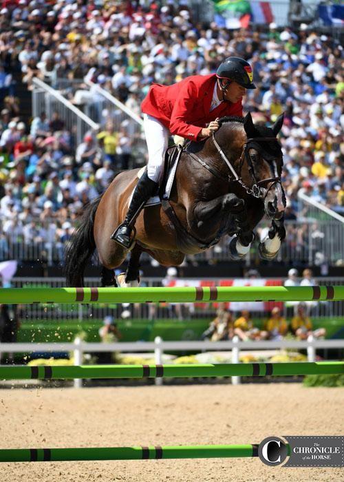 Christian Ahlmann and Taloubet Z Photo by Lindsay Berreth Photos & Video | The Chronicle of the Horse