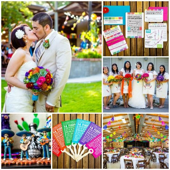 Mexican Themed Wedding   ... Theme Wedding... - 7 Festive Holiday Themes for Your Wedding...   All