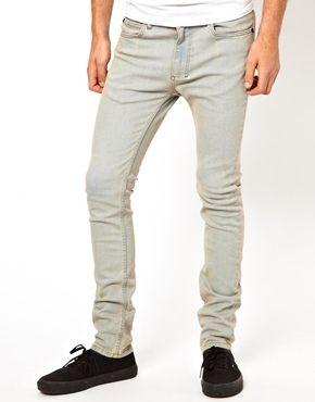 Religion Noize Skinny Jeans in Light Blue Wash