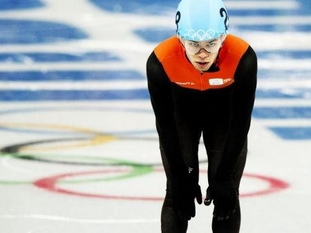 Sjinkie Knegt: b. 1989; Knegt is a speed skater from the Netherlands. He won a bronze medal in Sochi for Men's 1000 Meters Short Track.