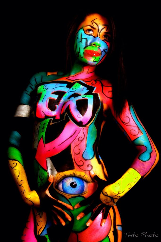 Graffiti by Stigmata Body Paint