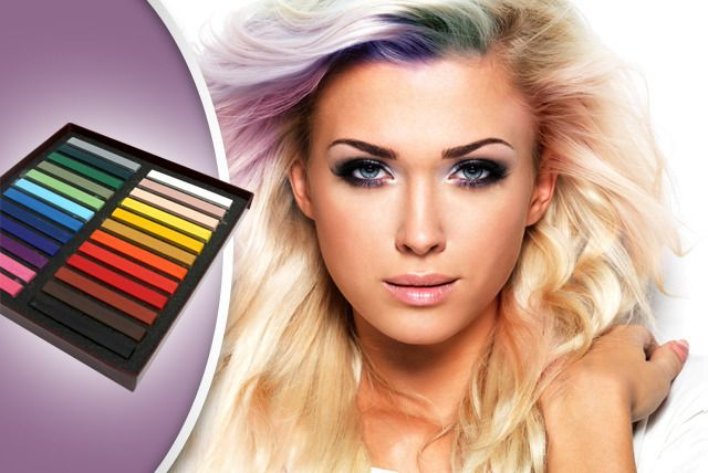 12 or 24 Hair Chalks