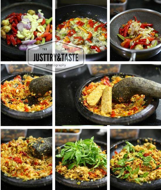 resep sambal tempe  tidak  adsense  jtt resep masakan indonesia resep masakan Resepi Nasi Uduk Sambal Kacang Enak dan Mudah