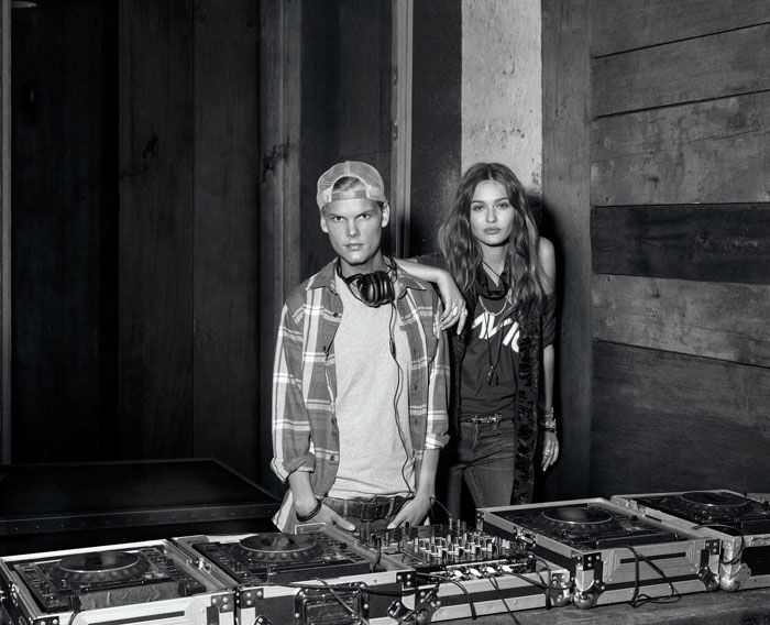 """Avicii's new video """"Wake me up"""" is exclusively styled with ..."""