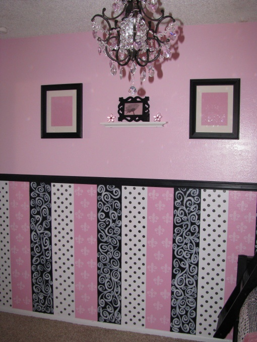 Love this for Kaylee's Barbie room! Very sweet but can still be grown into.