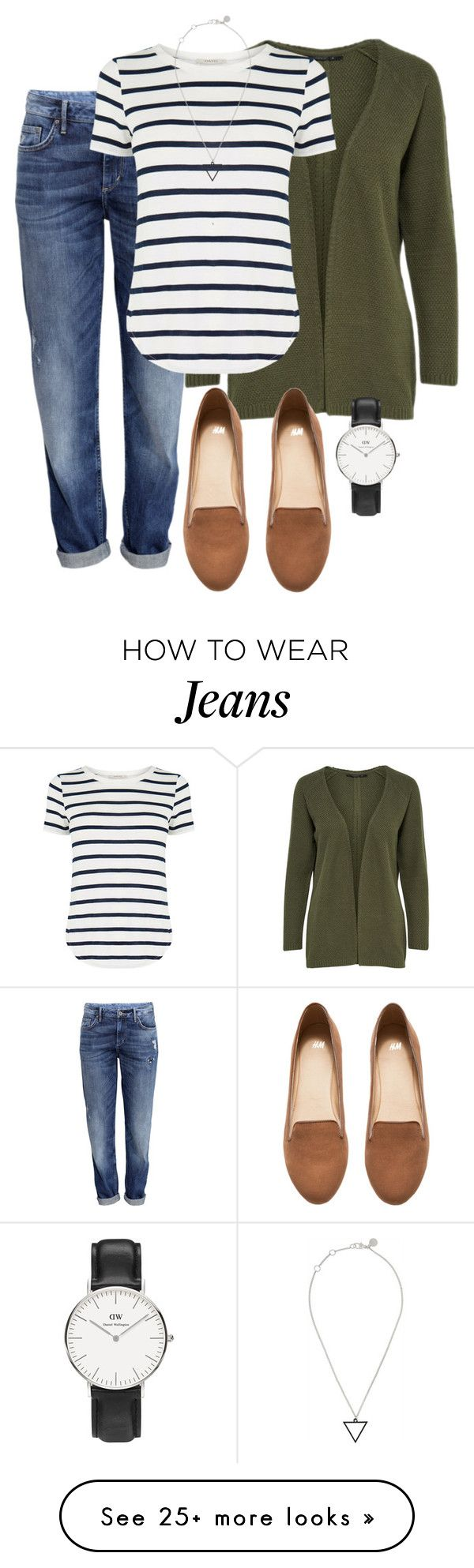 """""""Teaching #6"""" by deliag on Polyvore featuring H&M, Oasis, Marc by Marc Jacobs and Daniel Wellington"""