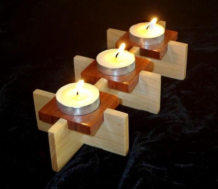 wood craft project ideas woodworking projects easy scouts tea light 5756
