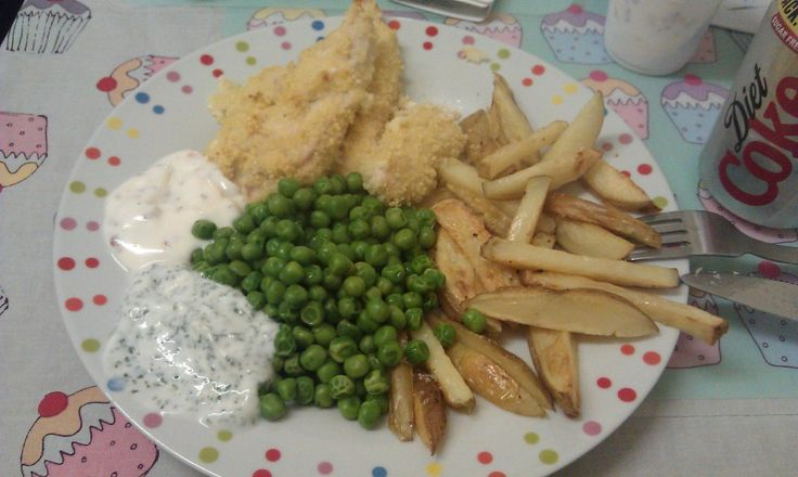 Recipe: Chicken Goujons and Chips