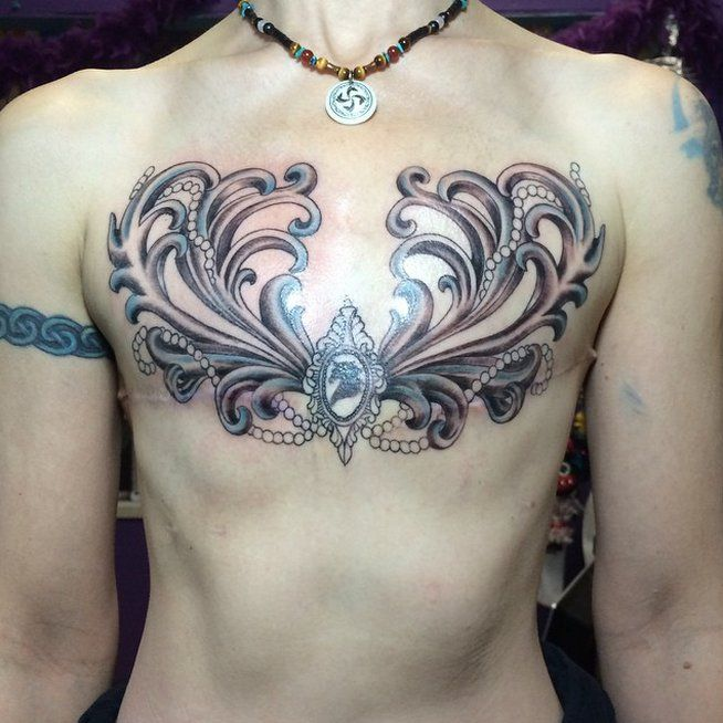 Tattoo Designs Breast: 15 Mastectomy Tattoos That Celebrate Scars In A Beautiful