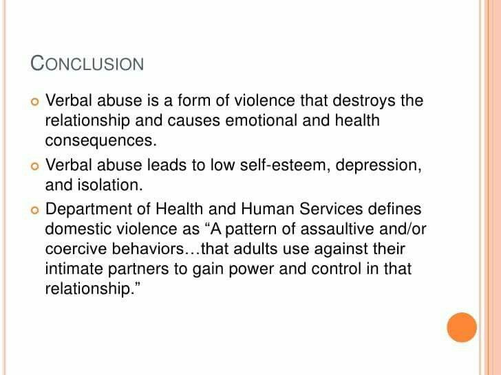 What Causes Emotional Abuse In A Relationship
