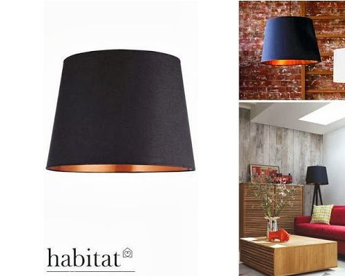 Vosgesparis: GIVEAWAY | HABITAT Black and Copper Light Shade