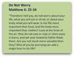 Matthew 6:25-34 Year 1 scripture for Term 2 to be memorised