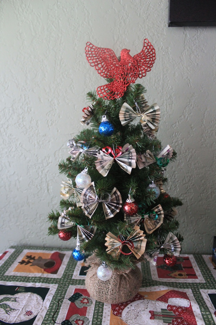 16 best money tree images on pinterest money trees christmas money tree class holiday gift for teacher negle Image collections
