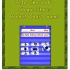 This fun game can be used with your preschool class to help them learn and review their shapes. Eight shapes and repetitive poem make this a game t...