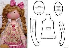 Resultado de imagen para moldes para muñecas millyta