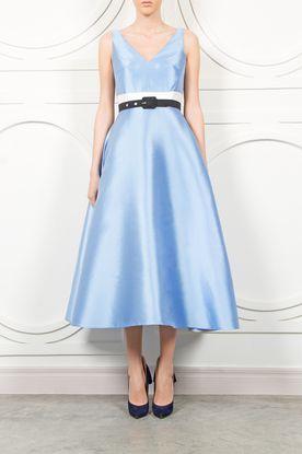 Lublu Kira Plastinina - Blue Long Dress - Dresses | MORE is LOVE