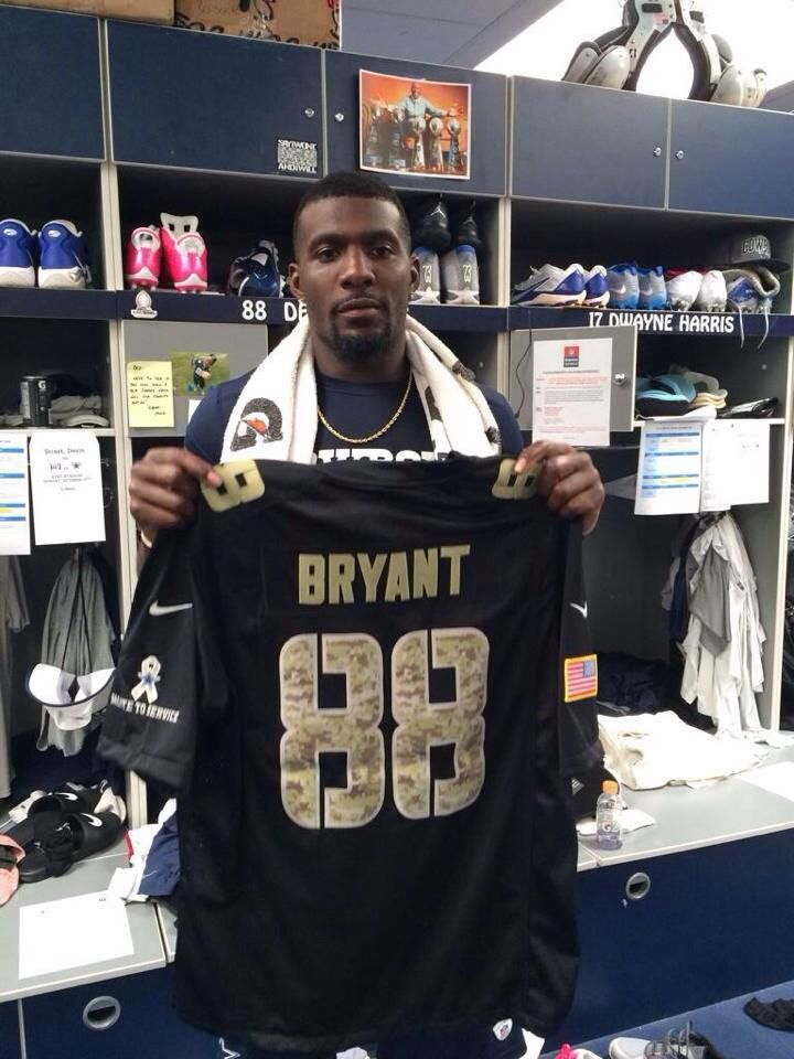 brand new 0495e 9b763 salute to service dez bryant jersey