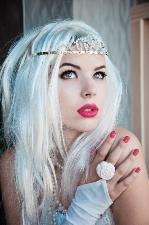 48 Best Images About Hair Color On Pinterest  Agyness Deyn Bright Blonde An