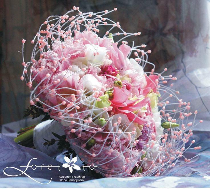 флорист Лора Белобровик (Минск), floral designer Laura Belabrovik (Minsk)