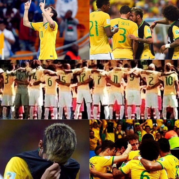 Eu estou orgulhoso de você Brasil.  I'm proud of you Brazil. #fifaworldcup2014 #worldcup #brazil #dontcry #proudofyou :'1