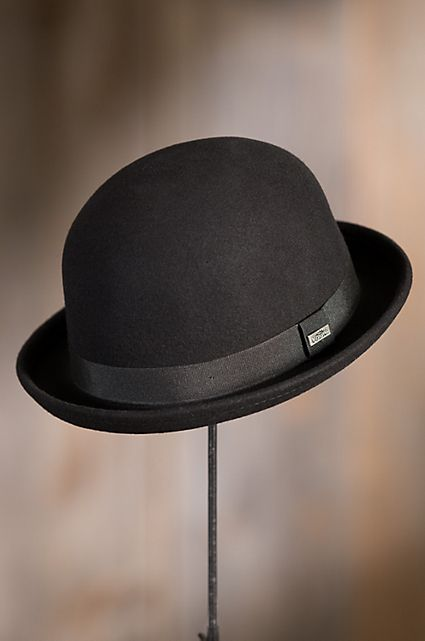 c42a6f950e52d Crushable Wool Waterproof Derby Bowler Hat
