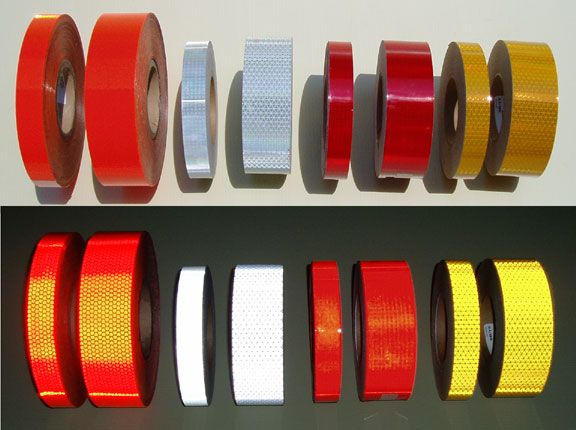 105 best reflective tape images on pinterest band duct tape and ice how reflective tape works types of reflective tape aloadofball Choice Image