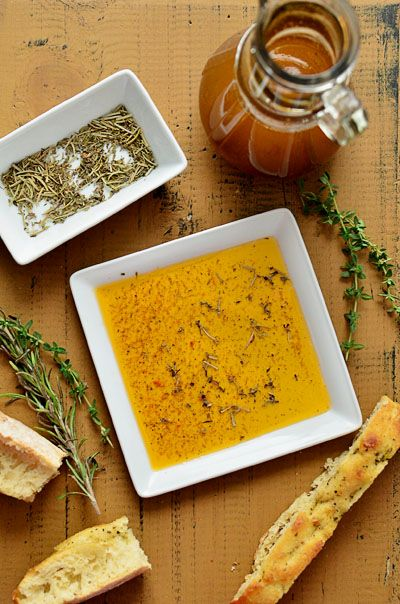 Sun Dried Tomato & Herb Dipping Oil