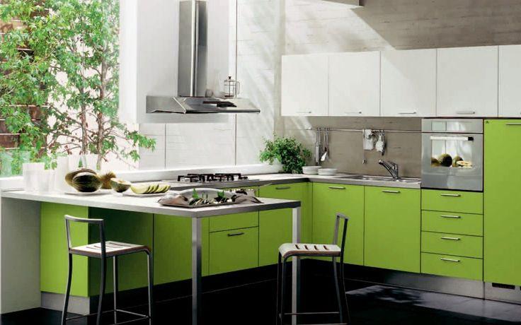 green kitchen decor hzaqky home design ideas decorating kitchen green brown decoration ideas