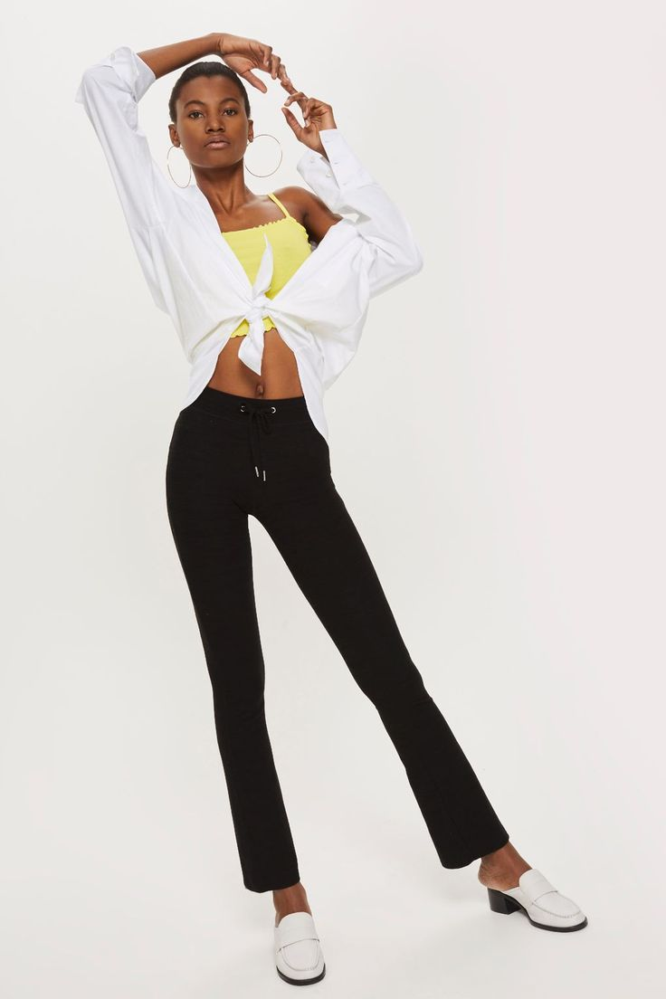 Soft Lounge Flare Trousers