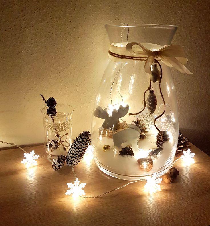 18+ Deko im glas mit lichterkette Sammlung