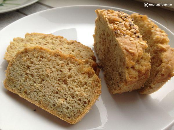 Pan sin glúten ni azúcar