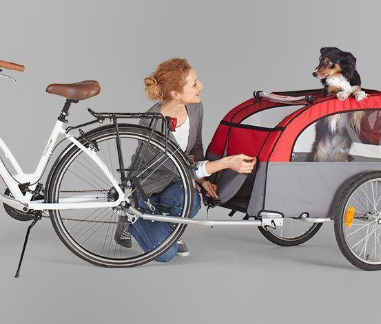 #Przyczepka do rowerów dla zwierząt #tchibo
