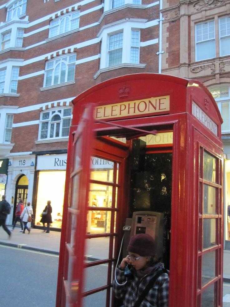 Londres, chamada urgente!