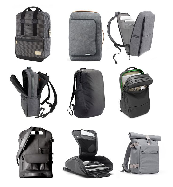9 Minimalist Modern Laptop Backpacks