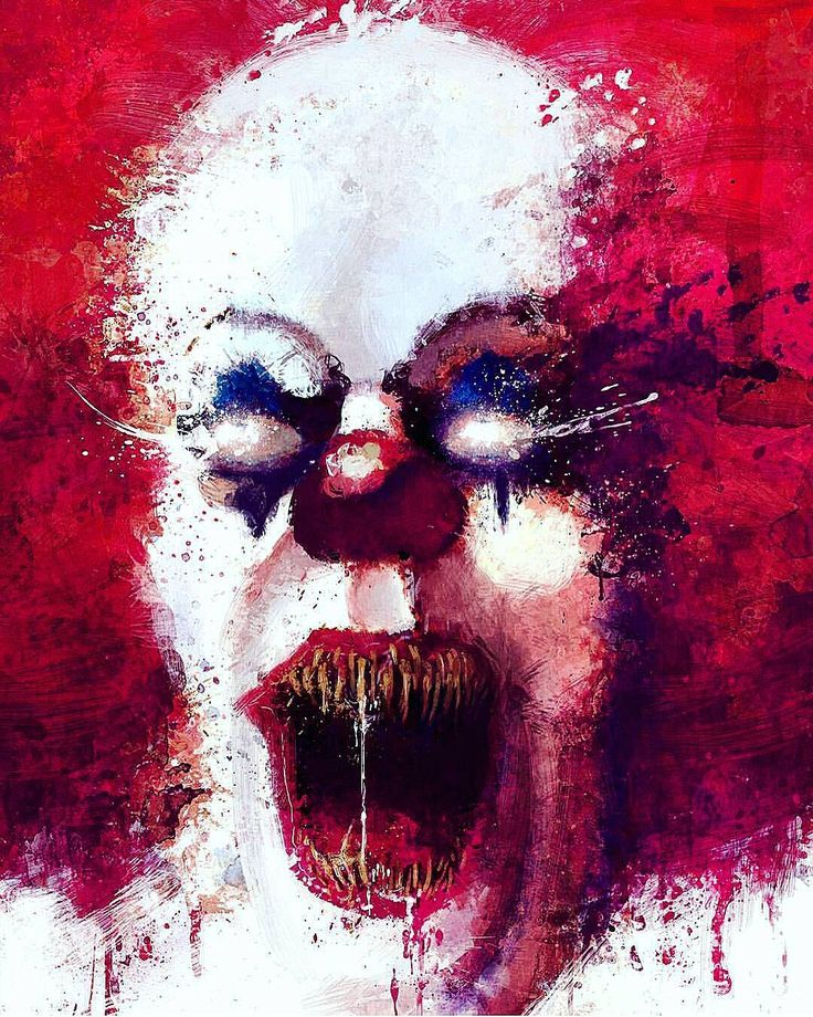 Pennywise the Clown IT Art. Neat. from tumbler.