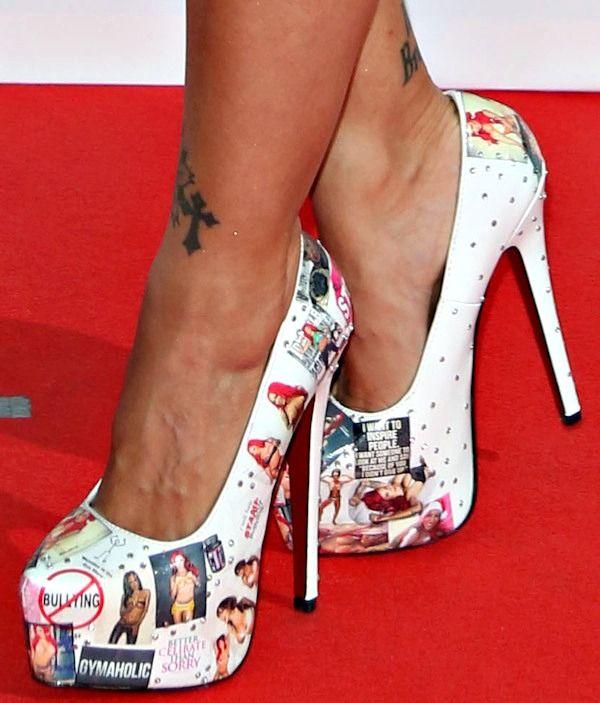 Jodie Marsh's Bizarre Shoe Collection